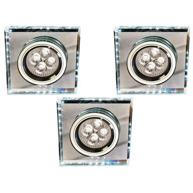 Zestaw opraw stropowych 3 szt. SS-22 białe GU10 + LED CANDELLUX