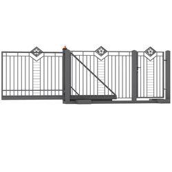 Serie ogrodzeń i bram wjazdowych