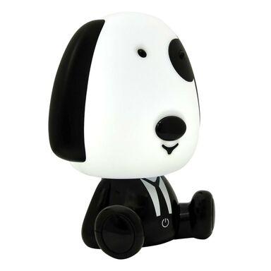 Lampa dziecięca PIESEK czarno-biała LED POLUX
