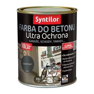 Farba do betonu ULTRA OCHRONA 0.75 l Grafitowy SYNTILOR