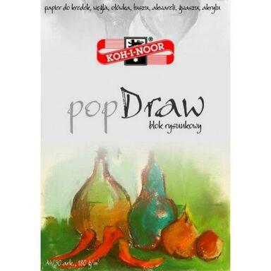 Blok POP DRAW  21 x 29,7 cm  30 kartek  KOH-I-NOOR
