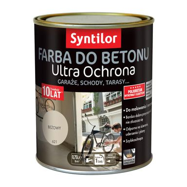 Farba do betonu ULTRA OCHRONA 0.75 l Beżowy SYNTILOR