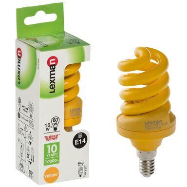 Świetlówka energooszczędna KOLOR E14 LEXMAN