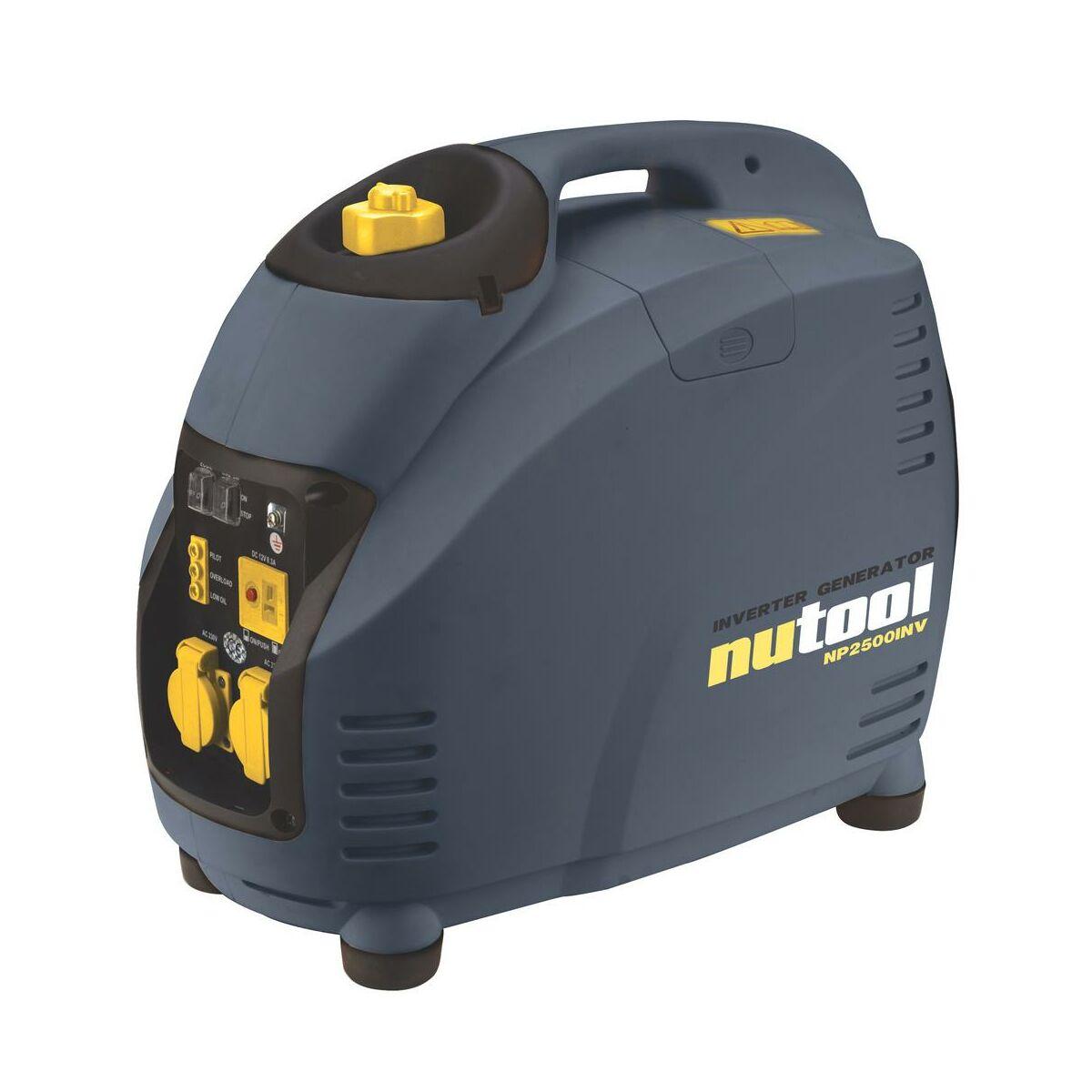 Generator pr dotw rczy inwertorowy np2500inv nutool for Leroy merlin generatore