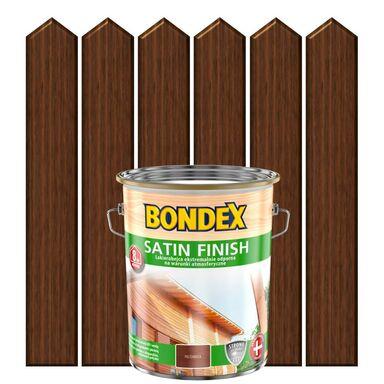 Lakierobejca do drewna SATIN FINISH 5 lOrzech włoski BONDEX
