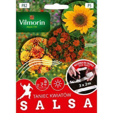 Mieszanka kwiatów SALSA nasiona na taśmie 3 x 2 m VILMORIN