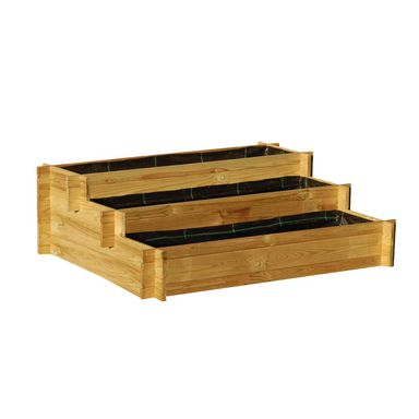 Warzywnik 100 x 75 cm drewniany SUSIE WERTH-HOLZ