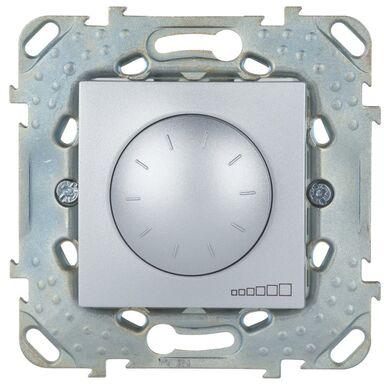 Ściemniacz przyciskowo-obrotowy UNICA  Srebrny  SCHNEIDER ELECTRIC