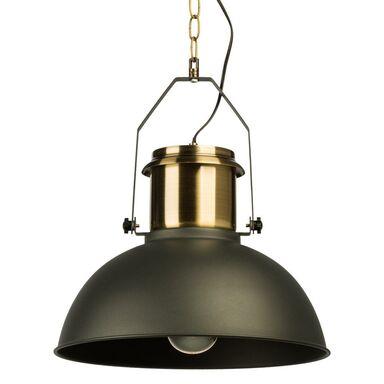 Lampa wisząca TED czarno złota E27 INSPIRE