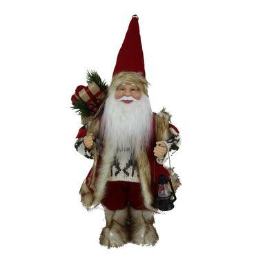 Mikołaj z prezentem 30 cm 1 szt.