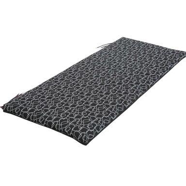 Poduszka na ławkę 45 x 113 x 4 cm NEAPOLI czarna PATIO