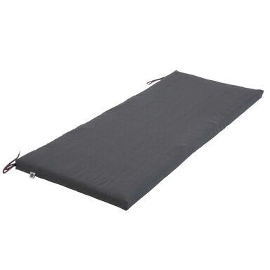 Poduszka na ławkę 45 x 113 x 4 cm NEAPOLI antracytowa PATIO