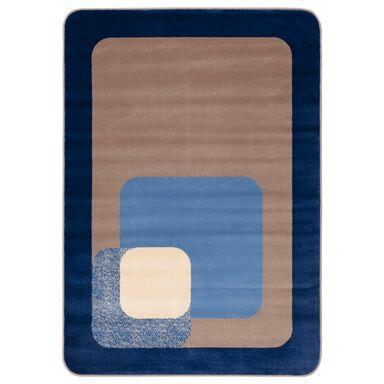 Dywan ROUND niebieski 160 x 220 cm