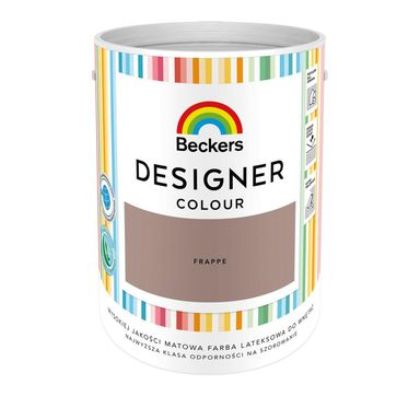 Farba wewnętrzna DESIGNER COLOUR 5 l Frappe BECKERS