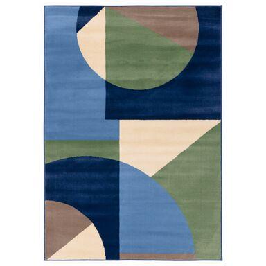 Dywan MUZA niebiesko-zielony 160 x 220 cm