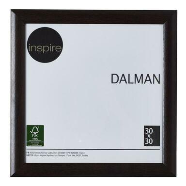 Ramka na zdjęcia Dalman 30 x 30 cm brązowa drewniana Inspire