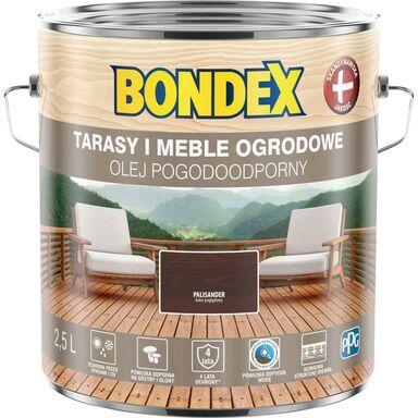 Olej do drewna POGODOODPORNY 2.5 l Palisander BONDEX