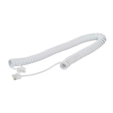 Kabel telefoniczny EVODPM211 1.4 x 1.4 x 200 cm BIAŁY EVOLOGY