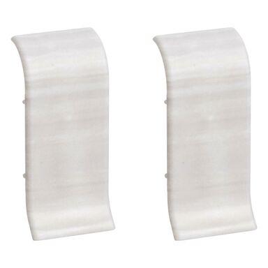 Łącznik do listwy przypodłogowej ERGO 56 Dąb biały 2 szt.