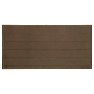 Płot kompozytowy 173x86.5 cm brązowy WPC WINFLOOR