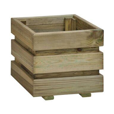Donica ogrodowa 30 x 37 cm drewniana FIX SOBEX