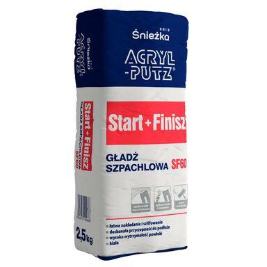 Gładź szpachlowa START+FINISH 2,5 kg ACRYL PUTZ