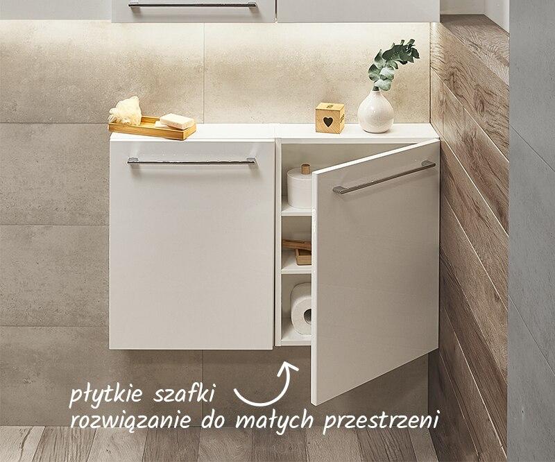 Idealne do małych łazienek