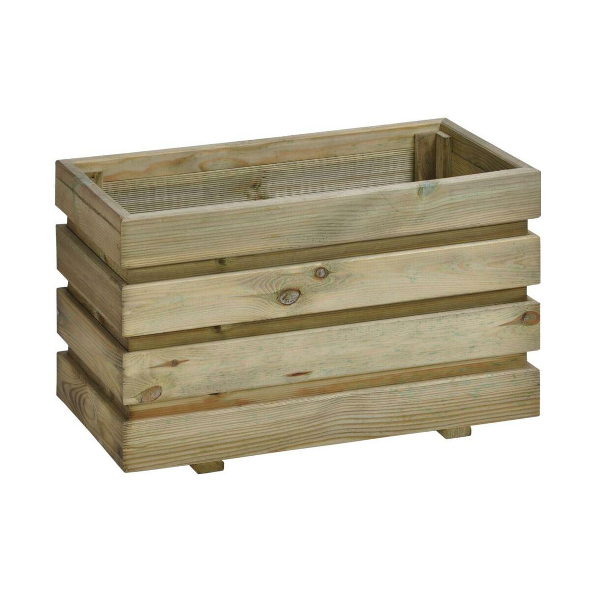 Donica Ogrodowa 60 X 37 Cm Drewniana Fix Sobex Donice Ogrodowe W Atrakcyjnej Cenie W Sklepach Leroy Merlin
