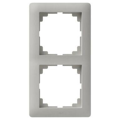 Ramka podwójna ASTORIA  szary  ELEKTRO-PLAST