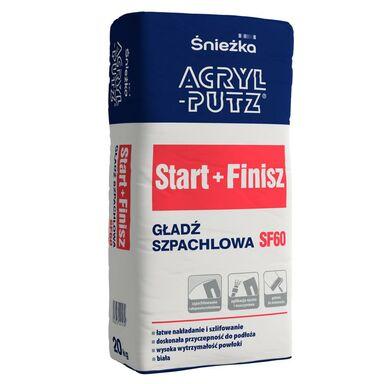 Gładź gipsowa START+FINISH 20 kg ACRYL PUTZ