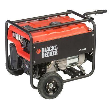 Agregat prądotwórczy BD 3000  moc2.7 kW BLACK+DECKER