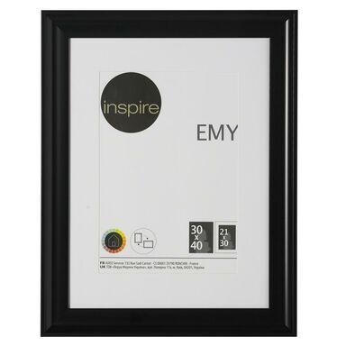 Ramka na zdjęcia EMY 30 x 40 cm czarna INSPIRE