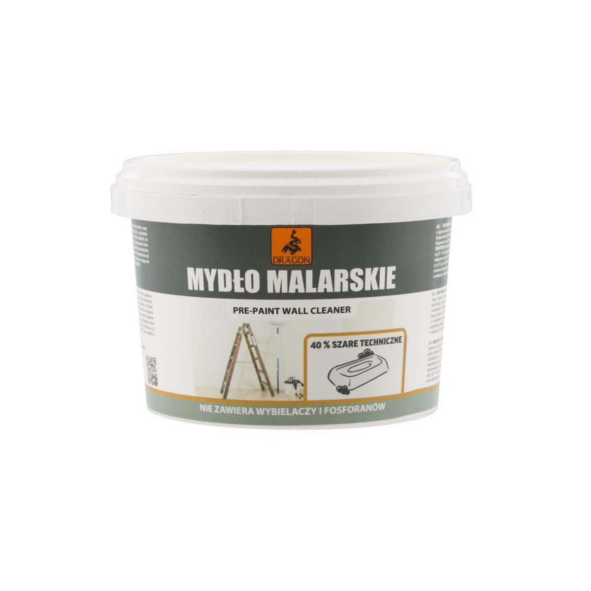 Mydlo Malarskie 40 0 4 Kg Szare Dragon Srodki Do Czyszczenia Podlog W Atrakcyjnej Cenie W Sklepach Leroy Merlin