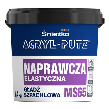 Gładź szpachlowa naprawcza elastyczna MS65 1,4 kg Acryl Putz
