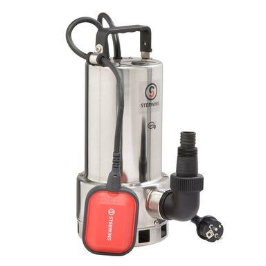 Pompa odwadniająca do wody brudnej 18000 l/h 1000 W STERWINS