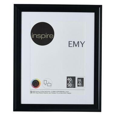 Ramka na zdjęcia EMY 40 x 50 cm czarna INSPIRE