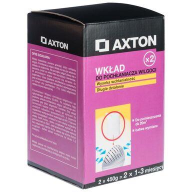 Wkład do pochłaniacza wilgoci 2 x 450 g AXTON