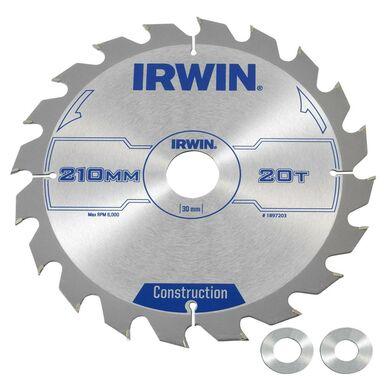 Tarcza do pilarki tarczowej 210MM/20T/30(20,16) IRWIN
