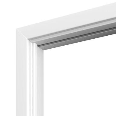 Ościeżnica regulowana do drzwi składanych Beta 80 Lewa biała zakres 95-115 mm Porta