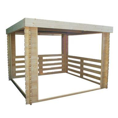 Altana Węgłowa 302 X 306 Cm Werth Holz