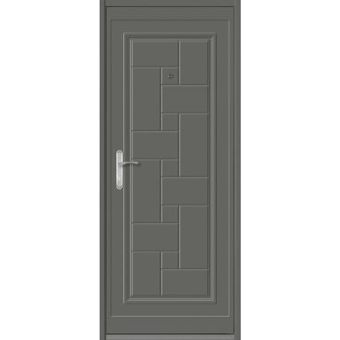 Drzwi wejściowe TETRIS 2 Antracyt 80 Prawe