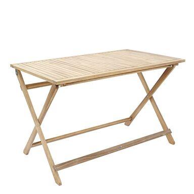 Stół ogrodowy SOLIS 70 x 114 cm drewniany NATERIAL