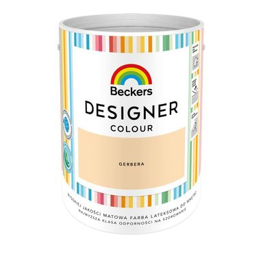 Farba wewnętrzna DESIGNER COLOUR 5 l Gerbera BECKERS