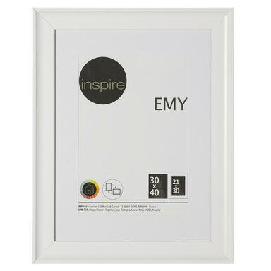 Ramka na zdjęcia Emy 30 x 40 cm biała Inspire