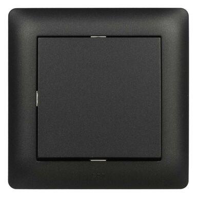 Przycisk świetło ASTORIA  czarny  ELEKTRO-PLAST