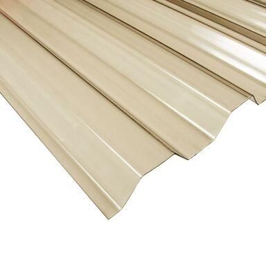 Płyta trapezowa PVC Brązowa 200 x 90 cm