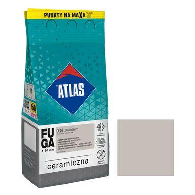 Fuga ceramiczna 034 jasnoszary 5 kg ATLAS