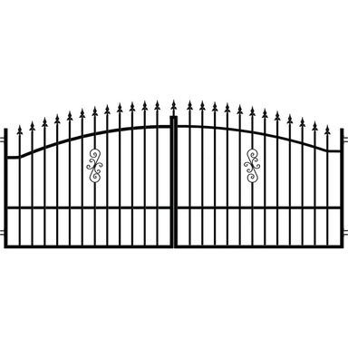 brama dwuskrzyd owa palermo 350 x 150 cm polargos bramy wjazdowe dwuskrzyd owe w atrakcyjnej. Black Bedroom Furniture Sets. Home Design Ideas