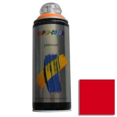 Spray PLATINUM Czerwony0,4 l  DUPLI- COLOR