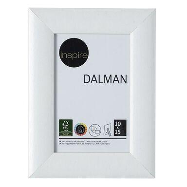 Ramka na zdjęcia Dalman 10 x 15 cm biała drewniana Inspire